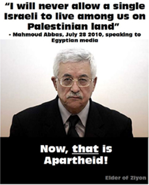 Now, that is Apartheid!